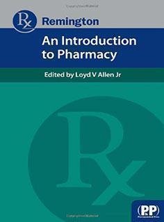 REMINGTON  AN  INTRODUCTIN PHARMACY  2013 - فارماکولوژی