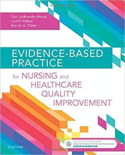 Evidence-Based Practice for Nursing and Healthcare Quality Improvement 2018 - پرستاری