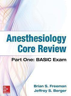 ANESTHESIOLOGY CORE REVIEW  2014 - بیهوشی