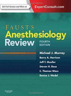 ANESTHESIOLOGY  REVIEW  2014 - بیهوشی