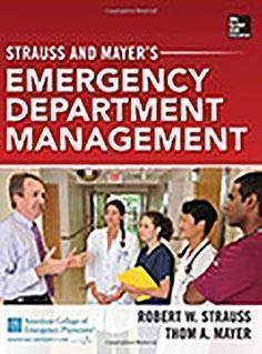 EMERGENCY DEPARTMENT MANAGMENT  2014 - اورژانس