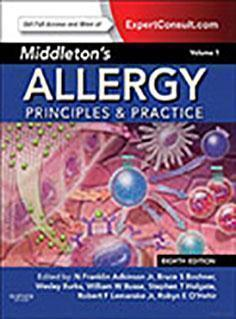Middletons Allergy: Principles and Practice  2014 - داخلی