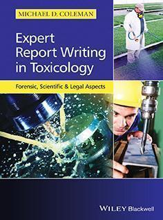 EXPERT REPORT WRITING TOXICOLOGY  2014 - فارماکولوژی