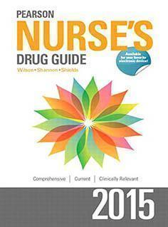 NURSES DRUG GUIDE  2015 - پرستاری