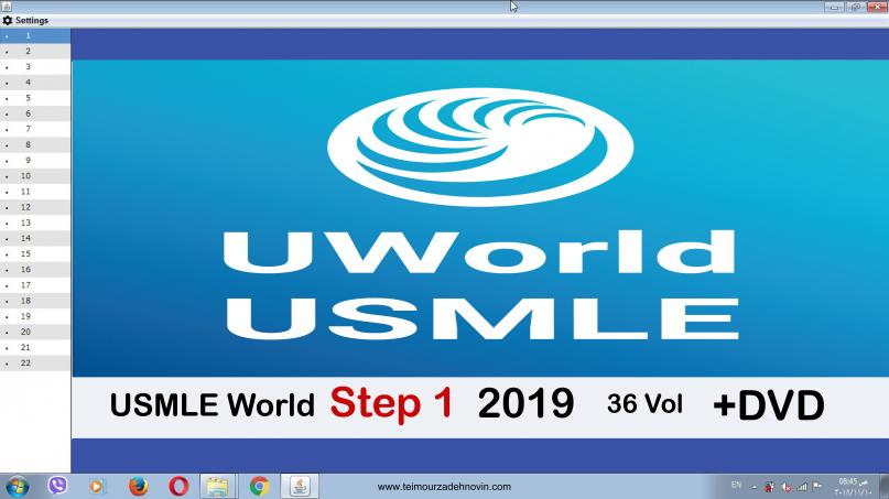 Uworld usmle step 1- 36 vol +DVd - آزمون های امریکا Step 1