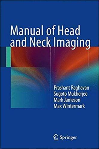 Manual of Head and Neck Imaging  2014 - رادیولوژی