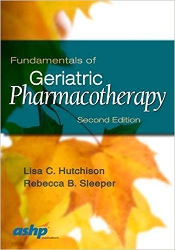 Fundamentals in Geriatric Pharmacotherapy  2015 - فارماکولوژی