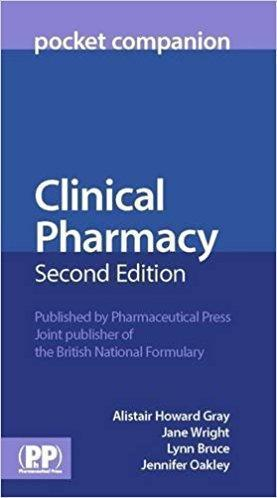 Clinical Pharmacy Pocket Companion  2015 - فارماکولوژی