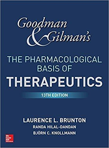 Goodman and Gilmans The Pharmacological Basis of Therapeutics  2 Vol 2018 - فارماکولوژی