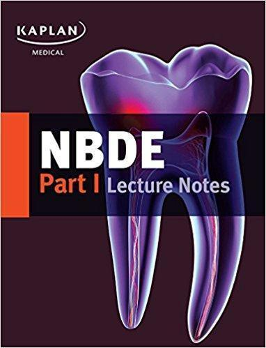 kaplan NBDE Part I Lecture Notes  2017  2 VOL - دندانپزشکی