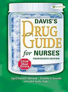 DAVIS DRUG GUID FOR NURSES  2015 - فارماکولوژی