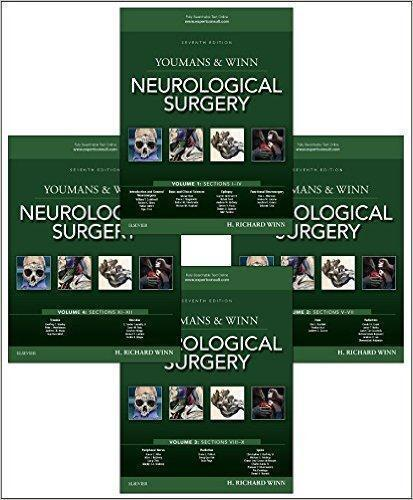 Youmans and Winn Neurological Surgery, 4-Volume 2017 - نورولوژی