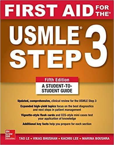 First Aid for the USMLE Step 3 2019 - آزمون های امریکا Step 3