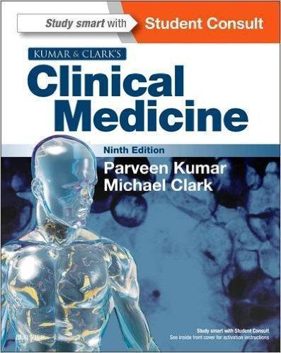 KUMAR & CLARKS CLINICAL MEDICINE 2 Vol  2017 - داخلی