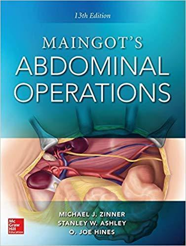 Maingot s Abdominal Operations  13th edition  2vol 2019