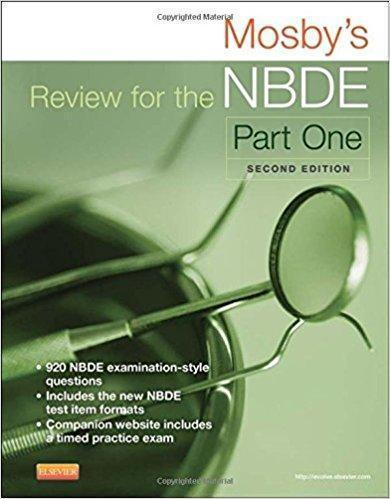 Mosbys Review for the NBDE Part one 2017 - دندانپزشکی