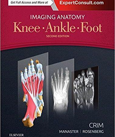 Imaging Anatomy: Knee, Ankle, Foot  2017 - آناتومی