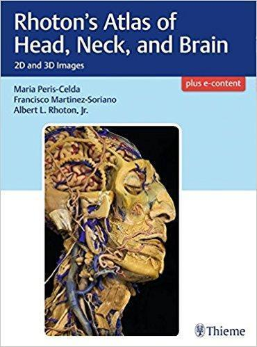 Rhotons Atlas of Head, Neck, and Brain  2018 - رادیولوژی