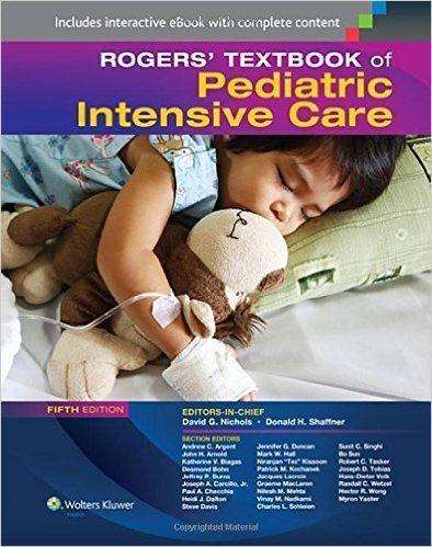 Rogers Textbook of Pediatric Intensive Care 2016 - اطفال
