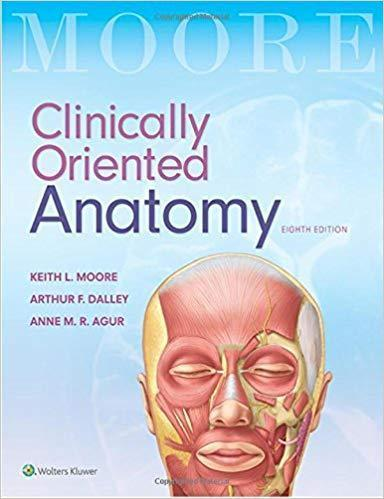 2018 Clinically Oriented Anatomy Eighth Edition - آناتومی