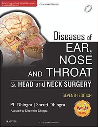 Diseases of Ear, Nose and Throat & Head and Neck Surgery  2018 - گوش و حلق و بینی