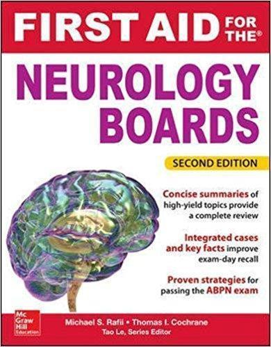 First Aid for the Neurology Boards  2015 - نورولوژی
