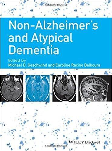Non-Alzheimers and Atypical Dementia 2016 - نورولوژی