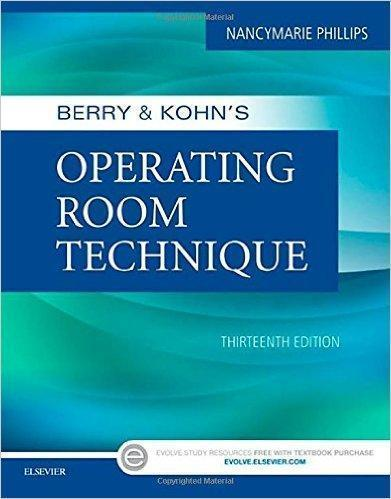 BERRY & KOHNS OPERATING ROOM TECHNIOHE 2017 - پرستاری