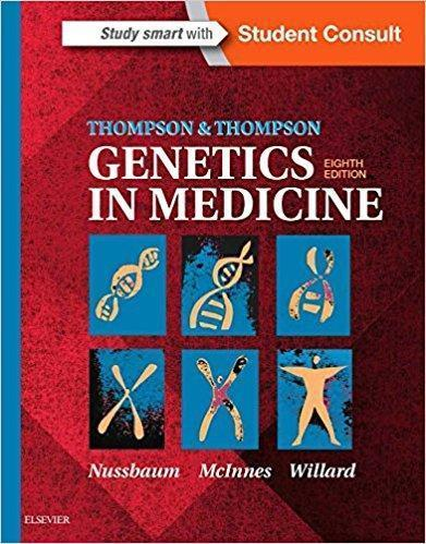 Thompson & Thompson Genetics in Medicine  2016 - ژنتیک