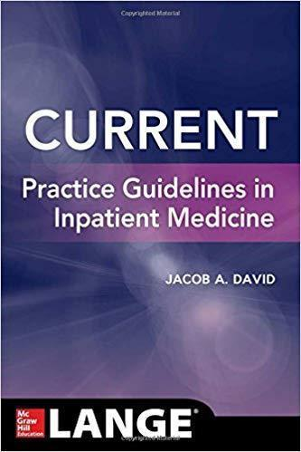 CURRENT Practice Guidelines in Inpatient Medicine 2018 - اورژانس