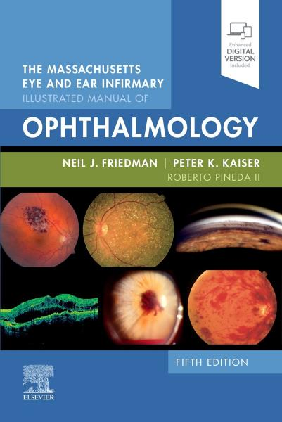 The Massachusetts Eye and Ear Infirmary Illustrated Manual of Ophthalmology+video 2021 - چشم