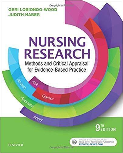 Nursing Research: Methods and Critical Appraisal for Evidence-Based Practice 2018 - پرستاری