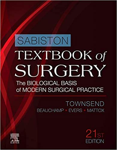 Sabiston Textbook of Surgery  The Biological Basis of Modern Surgical Practice-B4-   3 vol 2022