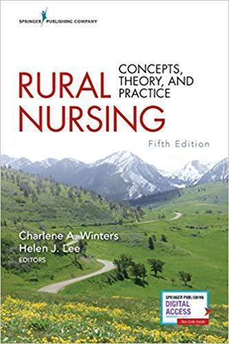 rural nursing concepts - theory - and practice 2018 - پرستاری