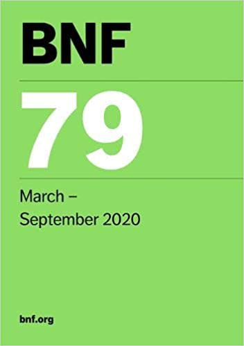 BNF 79 2 Vol (British National Formulary) March 2020 79th - فارماکولوژی