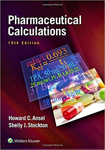 Pharmaceutical Calculations 2017 - فارماکولوژی