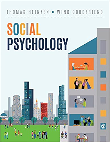 Social Psychology  Heinzen and  Goodfriend  2019 - روانپزشکی