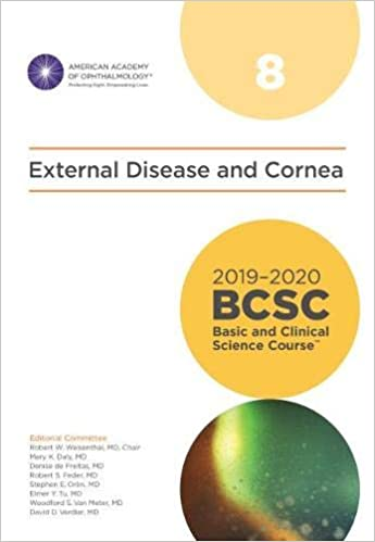 External Disease and Cornea Section 08 2019-2020 - چشم