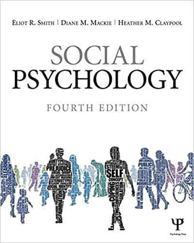 Social Psychology Eliot R. Smith 2015 - روانپزشکی