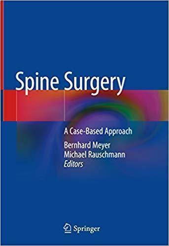 Spine Surgery: A Case-Based Approach  2019 - اورتوپدی