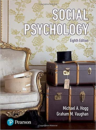 Social Psychology-Hogg-Vaughan 2018 - روانپزشکی