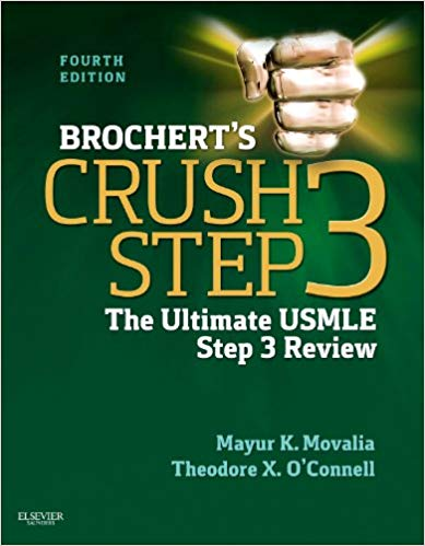Brochert s Crush Step 3 The Ultimate USMLE Step 3 Review 2013 - آزمون های امریکا Step 3