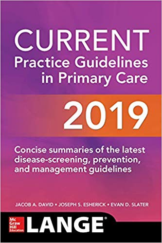 CURRENT Practice Guidelines in Primary Care 2019 - اورژانس