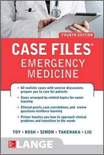 Case Files Emergency Medicine 2017 - اورژانس