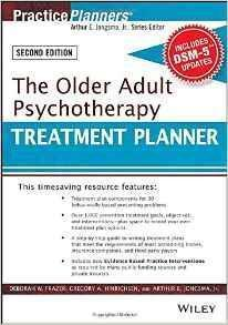 THE OLDER ADULT PSYCHOTHERAPY  2015 - روانپزشکی