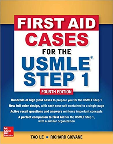 First Aid Cases for the USMLE Step 1 2018-2019 - آزمون های امریکا Step 1