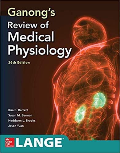 REVIEW OF MEDICAL PHYSIOLOGY GANONG  2019 - فیزیولوژی