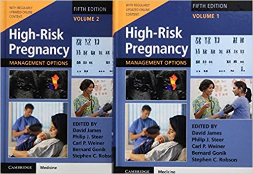 High-Risk Pregnancy : Management Options 2 Vol 2018 - زنان و مامایی