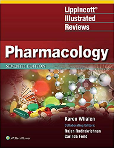 Lippincott Illustrated Reviews: Pharmacology 2019 - آزمون های امریکا Step 1