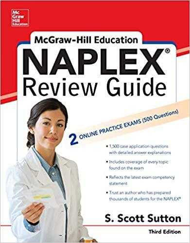 Mcgraw-Hill Education Naplex Review 2 Vol  2019 Third Edition - فارماکولوژی